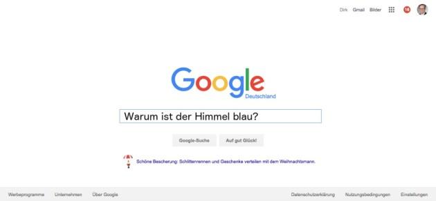 Google Suche 2015