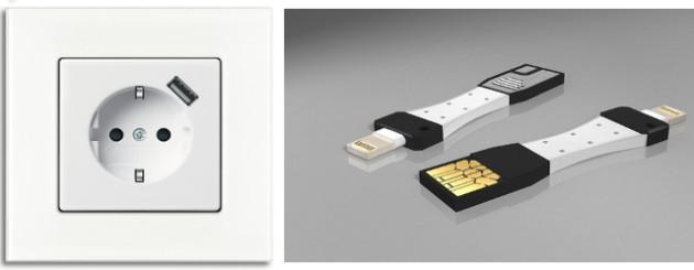 Steckdose USB Anschluss